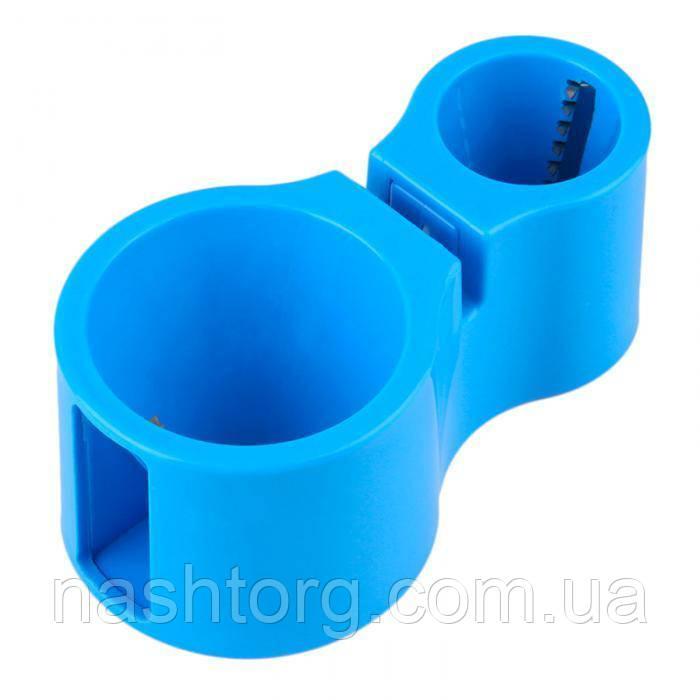 🔝 Спиральная овощерезка Spiral Cutter, прибор для резки овощей - фигурная терка - голубая | 🎁%🚚