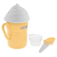 🔝 Стаканчик для приготовления мороженого, Ice Cream Magic, стакан форма   🎁%🚚