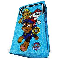 🔝 Детская постель, покрывало на кровать, ZippySack - Голубой с патрулем | 🎁%🚚
