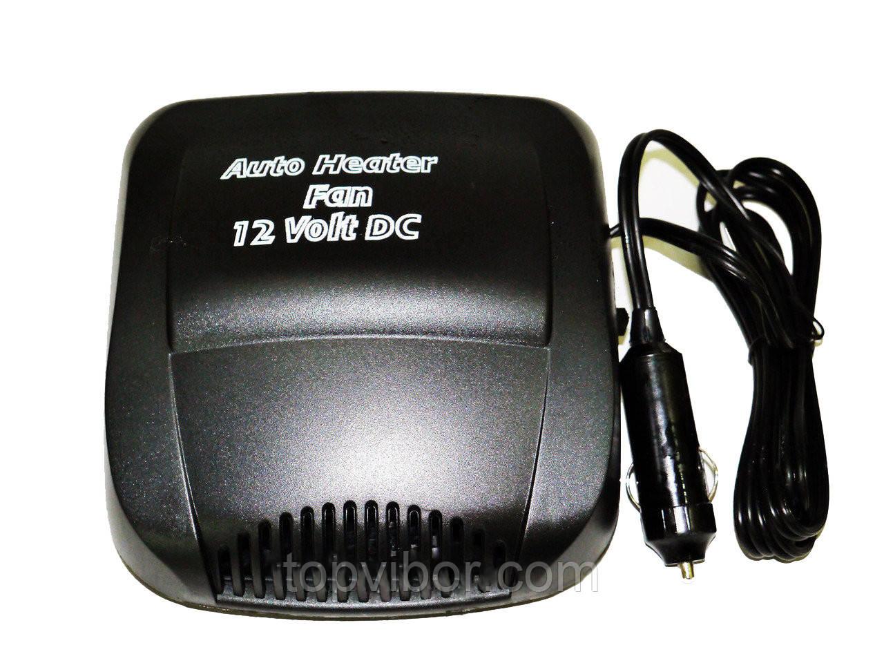 🔝 Автомобильный обогреватель салона от прикуривателя, вентилятор, Aeroterma si Ventilator, 150W | 🎁%🚚