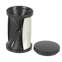 🔝 Овощерезка спиральная Spiral Slicer - чёрная, терка для для овощей с доставкой по Киеву и Украине | 🎁%🚚