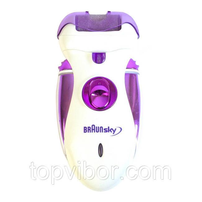 ✅ Женский эпилятор, BraunSky BS-2020 4 в 1, машинка для эпиляции