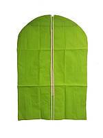 🔝 Чехол для одежды, тканевый, 60x90 см., цвет - салатовый | 🎁%🚚, фото 1