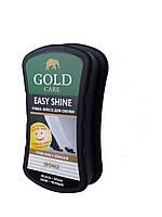 Губка черная Easy для гладкой кожи стандартная Голд Gold