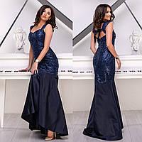 """Платье выпускное, вечернее макси со шлейфом """"Богемия"""", фото 1"""