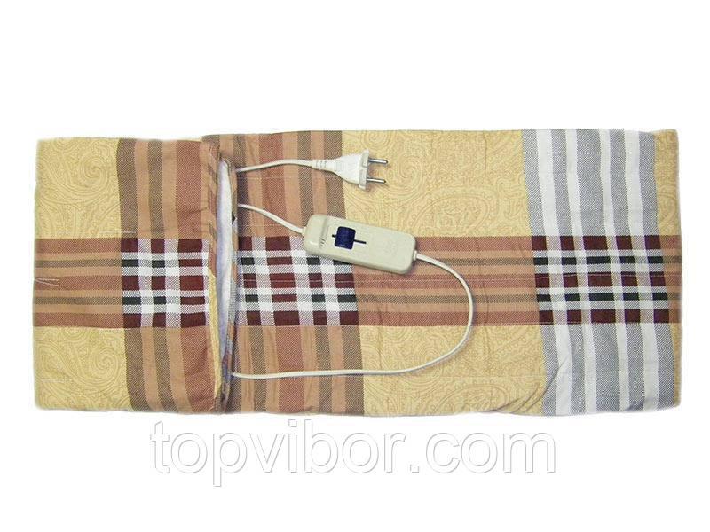 Электрическая простынь с подогревом полуторная 150x80 см. - цвет Бежевый, с доставкой по Киеву и Украине