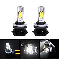 Лампы светодиодные LED 881 H27 мощностью 10W, для противотуманок Hyuindai Kia Chevrolet