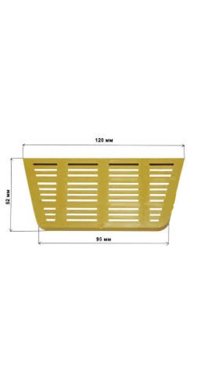 Прилетная дошка сітчаста верхня 120 мм.