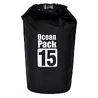 Сумка рюкзак, Water Proof Bag - Ocean Pack, рюкзак мешок, цвет - чёрный, фото 1