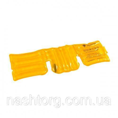🔝 Солевая грелка «Воротник» - желтая   🎁%🚚