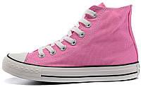 Женские высокие кеды Converse Chuck Taylor All Star конверс чак тейлор олл старс розовые