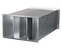 Прямоугольный канальный шумоглушитель 500х250