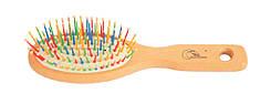 Gorgol. Гребінець 7 рядів пластмасових кольорових зубців.