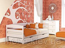 Кровать односпальная  Нота плюс с ящиками/ с шухлядами , фото 2