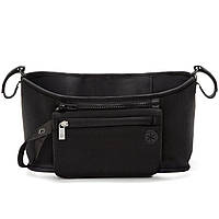 🔝 Органайзер на ручку коляски, сумка чехол, Grab & Go, цвет - чёрный, сумка для мамы на коляску | 🎁%🚚, фото 1