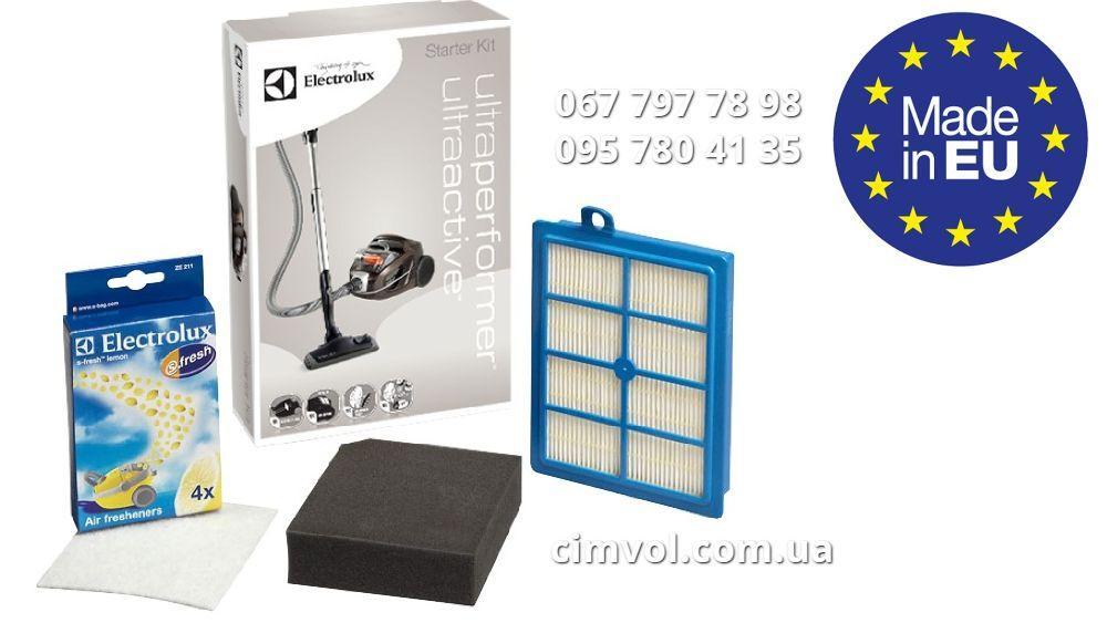 Фильтры Electrolux Ultra Active и Ultra Performer для пылесосов ZUA 3800 до 3860, ZUP 3800 до 3899
