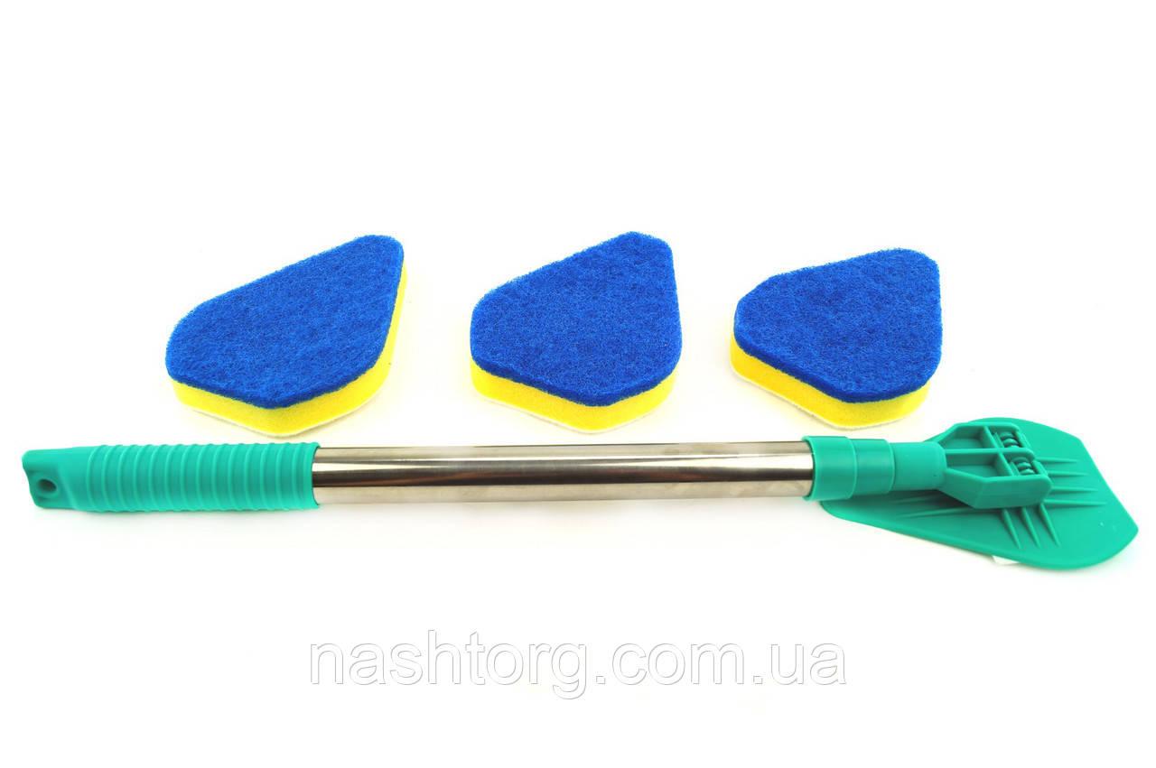 🔝 Швабра с насадками Clean Reach - универсальная щетка для уборки, с доставкой по Киеву и Украине   🎁%🚚