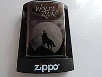 """Зажигалка Zippo - """"Wolf's Rain""""."""