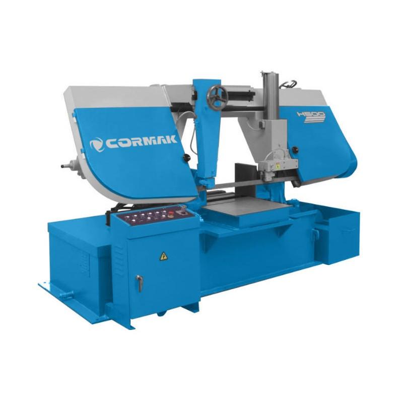 Полуавтоматическая ленточная пила CORMAK H-500 H-600 H-650 H-700