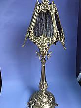 Лампа бронзовая