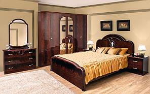 """Модульна спальня """"Лаура"""" від Світ меблів (махонь)."""