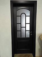 Двери массив и лудка (Ясень) с окраской, фото 1