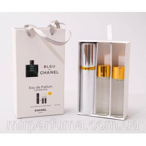 Мужской мини набор 45ml Chanel Bleu Men оптом