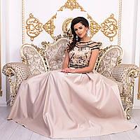 bb64eb314cc Бежевое вечернее платье в пол в Украине. Сравнить цены