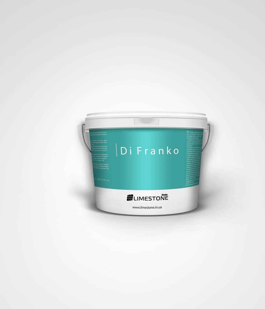 Декоративная шпаклевка LimeStone Di Franko 2.5л