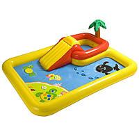 Ігровий надувний басейн 254х196х79 см