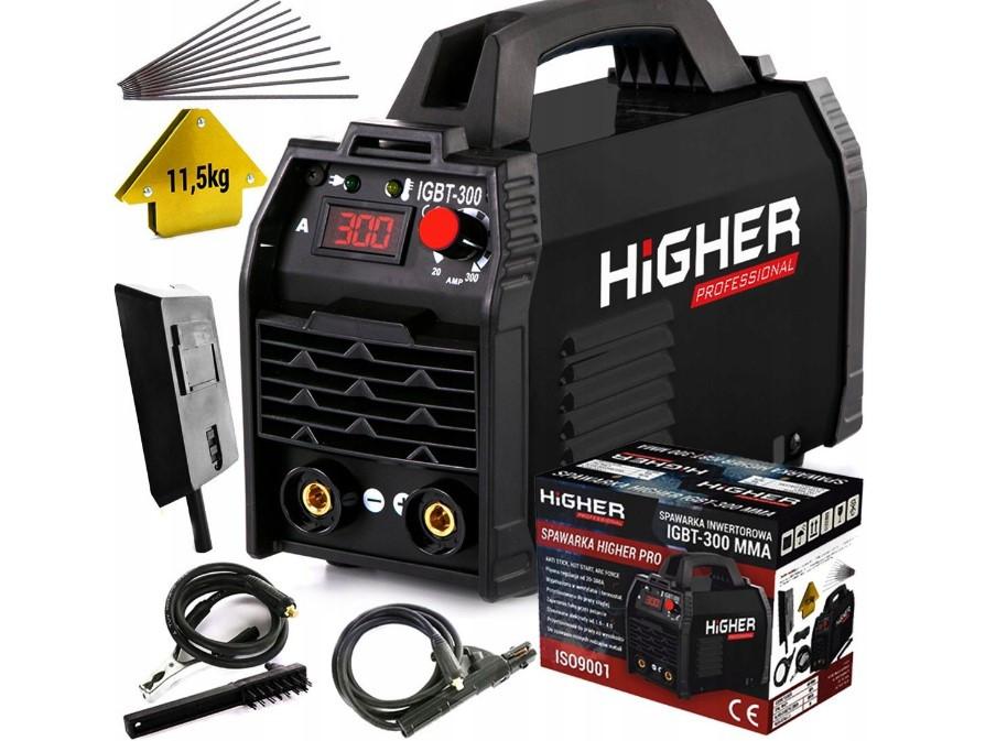 Сварочный инверторный аппарат Higher 300A MMA TIG IGBT