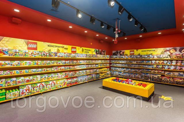 торговое оборудование WIKO для магазина детских товаров