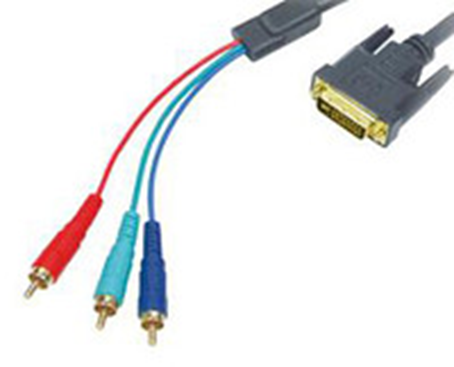 Компьютерный кабель DVI-3RCA, 5 м CV-1252 , фото 2