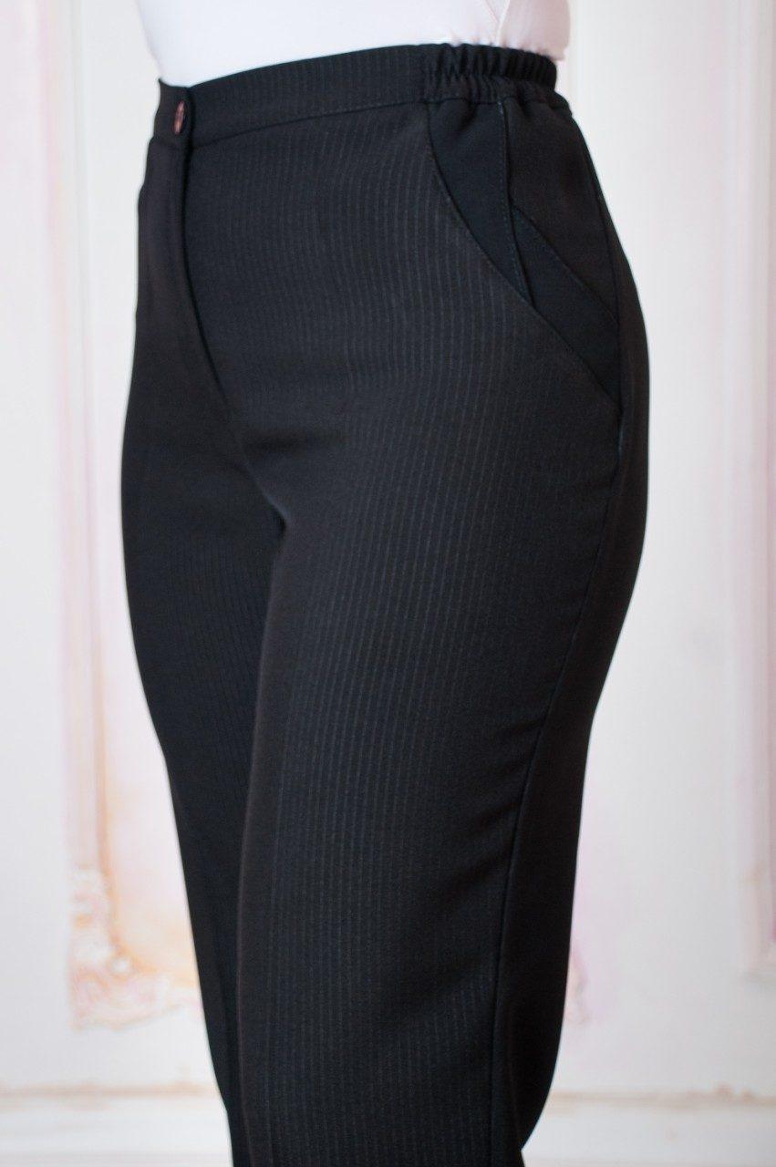 Жіночі брюки Світлана. Чорні і сині.