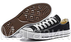 Мужские кеды Converse Chuck Taylor All Star Конверс Чак Тейлор Олл Старс черные, фото 3