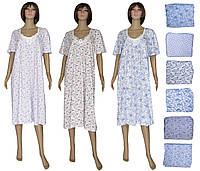 Снова в наличии женские трикотажные ночные рубашки больших размеров (66-68) - серия Аппликация ТМ УКРТРИКОТАЖ!