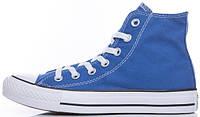 Мужские кеды Converse Chuck Taylor All Star High высокие Конверс Чак Тейлор Олл Старс синие
