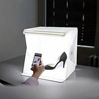 Световой Лайт бокс с 2x LED подсветкой для предметной макросъемки