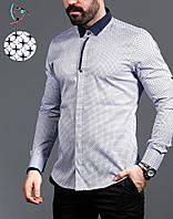 Стильна чоловіча сорочка, фото 1