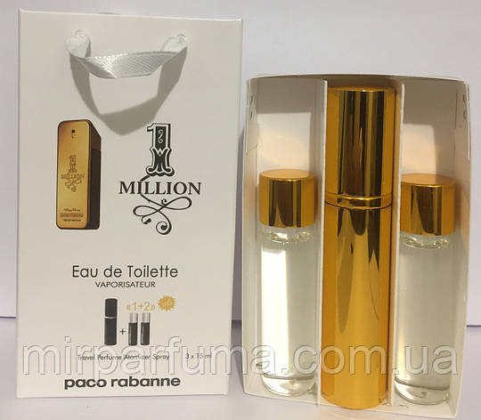 Набор мини Paco Rabanne 1 Million Men 45ml оптом, фото 2