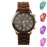 Женские наручные силиконовые часы GENEVA Jelly