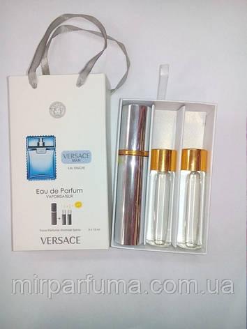 Мини духи Versace Eau Fraiche Men 45ml оптом в картонной упаковке, фото 2