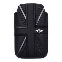 Чехол-карман CG Mobile Mini Leather Sleeve Case Union Jack Black for iPhone 4/4S (MNPUIPUJBL)