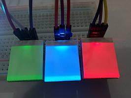 Сенсорная кнопка с подсветкой 3-6V