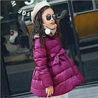 Хит!!! В наличии очень красивое пальто на девочку цвета марсала , фото 1