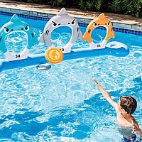 Надувний ігровий мішень Акули 267x51x91 см