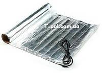 Фольгированный алюминиевый нагревательный мат In-therm Afmat 2,5 м2 под ламинат и линолеум