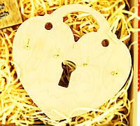 """Настенная ключница из дерева """"Сердце"""", оригинальные ключницы из дерева, ключницы для дома"""