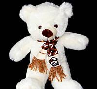 Подарок для детей Мишка 50 см плюшевая мягкая игрушка медведь в шарфе