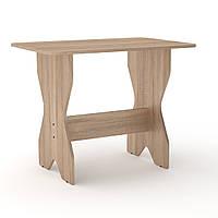Стол кухонный КС-1 дуб сонома Компанит (90х59х72 см)